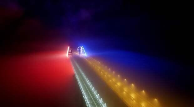 Крымский мост оборудуют освещением за 129 млн рублей