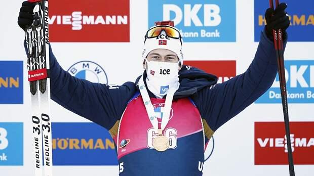 Легрейд выиграл масс-старт на чемпионате мира, Логинов — 9-й