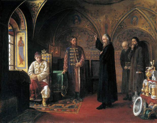 Ведь обгадить Ивана Грозного - поставить под вопрос законность его территориальных приобретений и стремление нынешних властей России защитить суверенитет