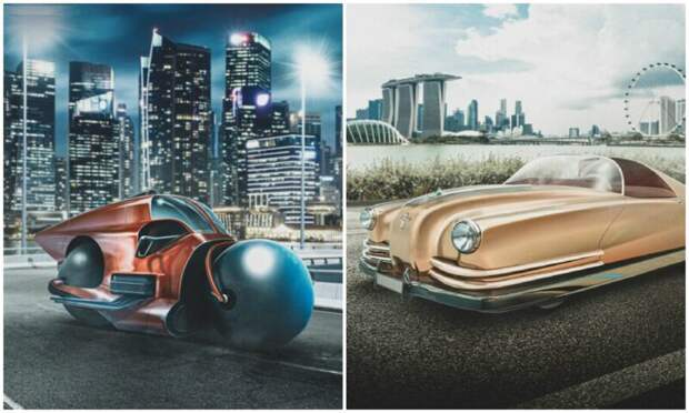 Как футуристы 20 века представляли себе автомобили будущего