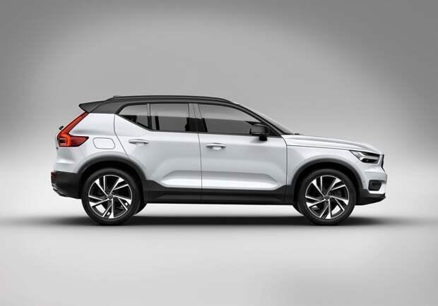 Volvo представила компактный кроссовер XC40 volvo, автоновости, кроссовер, машины, новинки