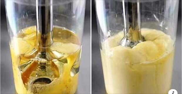 3 прекрасных рецепта густого майонеза за 30 секунд