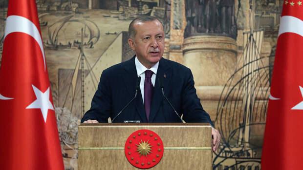 Эрдоган заявил о поддержке палестинцев
