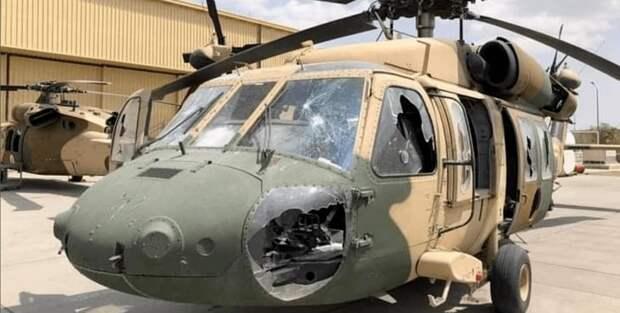 брошенный вертолет в кабуле
