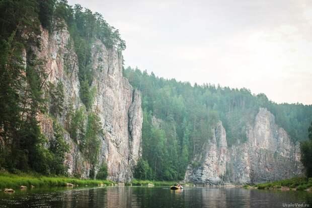 Камень Омутной на Чусовой