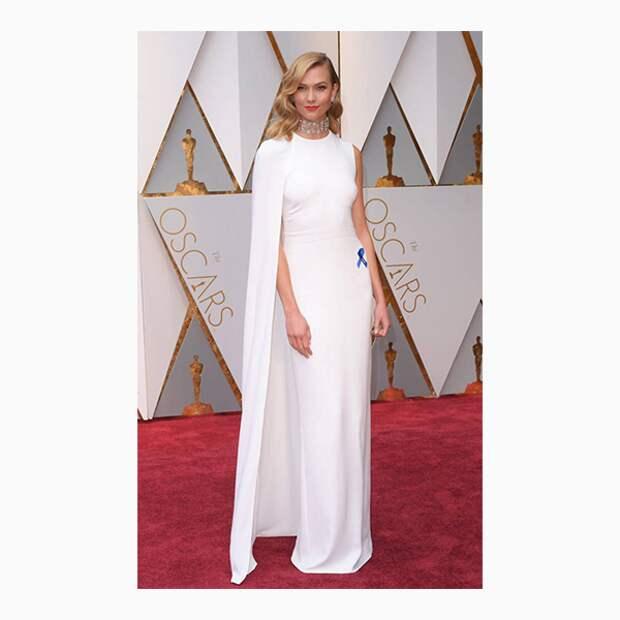 Карли Клосс на церемонии «Оскар»-2017