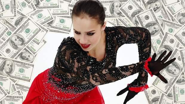 Загитова заработала за год больше миллиона долларов. Из чего складывается доход фигуристки