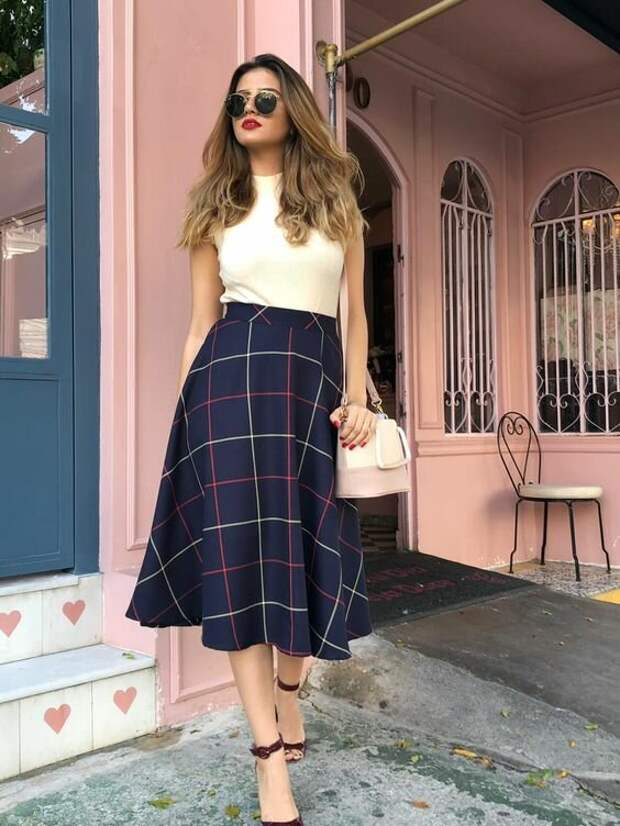 3 универсальные юбки, которые подходят как 20+ так и 50+ леди и для любого время года