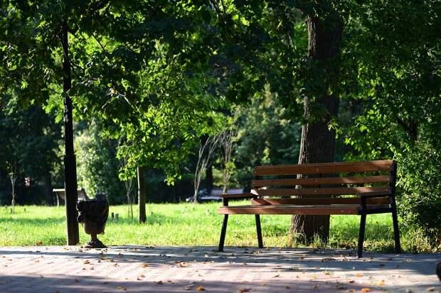 Парк, Лавочка, Скамейка, Природа