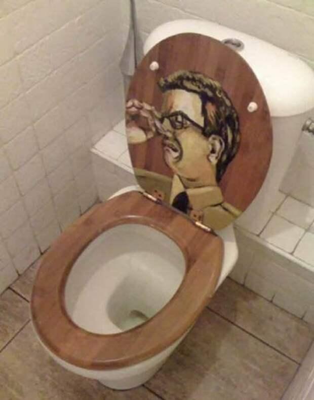 Супер-прикольное оформление туалетов, от которых можно потерять дар речи.