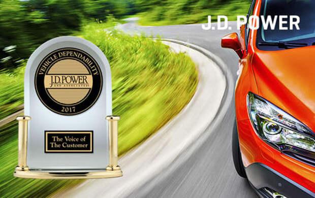 Какие автомобили самые надежные? Рейтинг J.D. Power