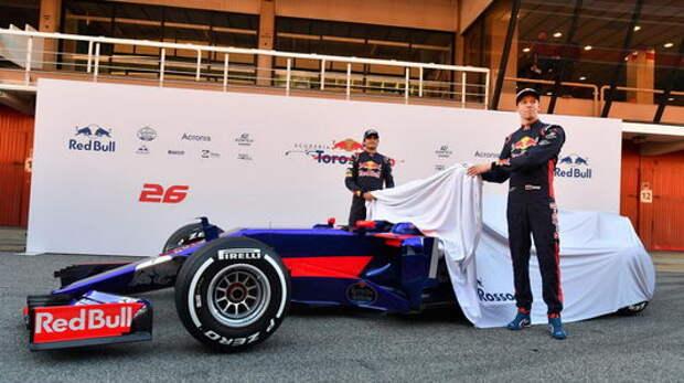 Формула 1: автомобили-2017