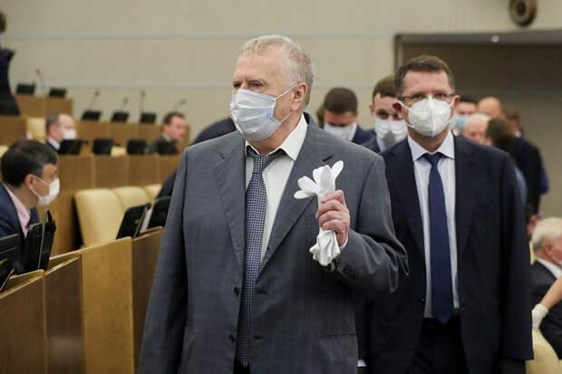 Жириновский потребовал привить всех депутатов от COVID-19