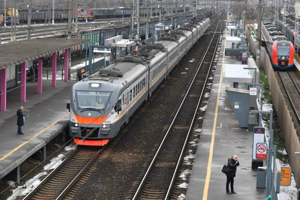 """Платформа """"Перерва"""" МЦД-2 / Фото: Денис Афанасьев"""