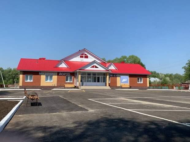 В рамках нацпроекта «Культура» в селе Ябалаково за год построен новый Дом культуры