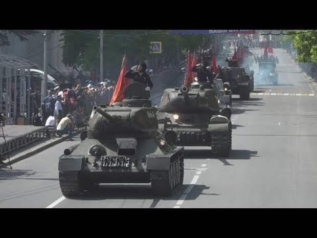 В Севастополе прошла генеральная репетиция парада Победы (СЮЖЕТ)