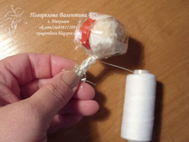 "Свадебный букет ""Ноктюрн"" - мастер-класс"