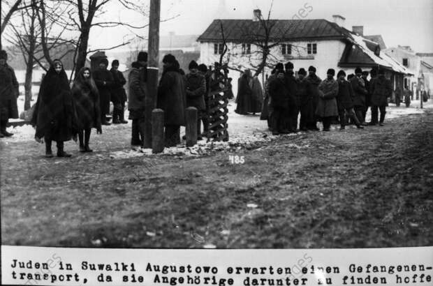 Juden in Suwalki Augustowo 1915/16 - Jews in Suwalki Augustowo 1915/16 -