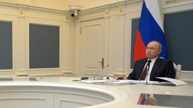 Путин рассказал о превращении Украины в «анти-Россию»