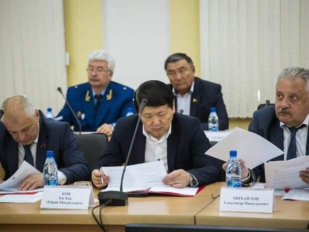 Юрия Кона выбрали новым главой парламента Забайкалья
