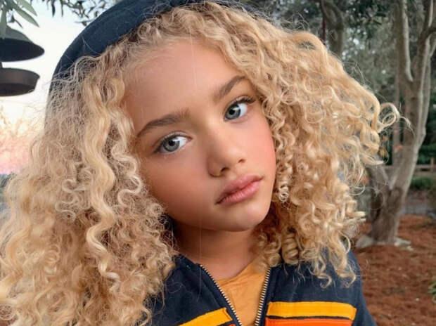"""Мать """"самой красивой девочки планеты"""" заявила о ее похищении"""
