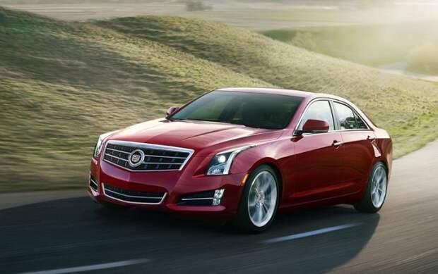Люксовый американский седан Cadillac ATS 2014 года. | Фото: cheatsheet.com.