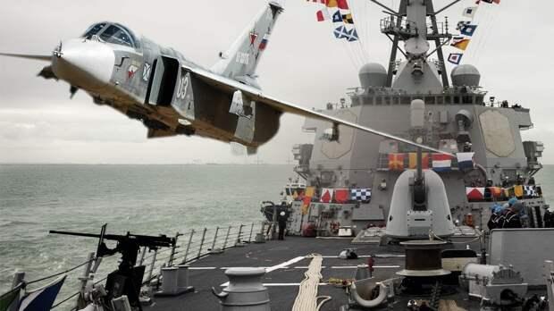 Sohu: маневры российских летчиков над Черным морем вызывают у США зависть