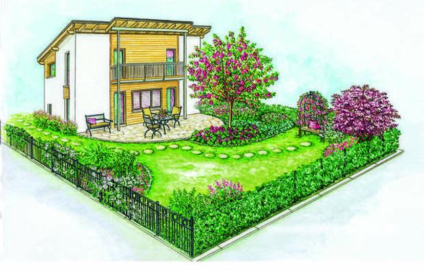 Сад для романтиков