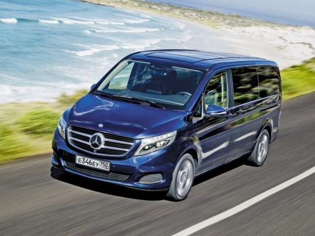Mercedes-Benz V-класса: вундерваффе!
