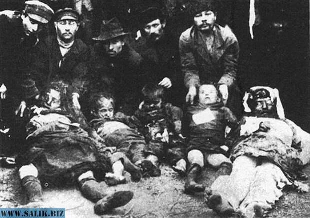 Убитые во время Кишиневского погрома (1903).