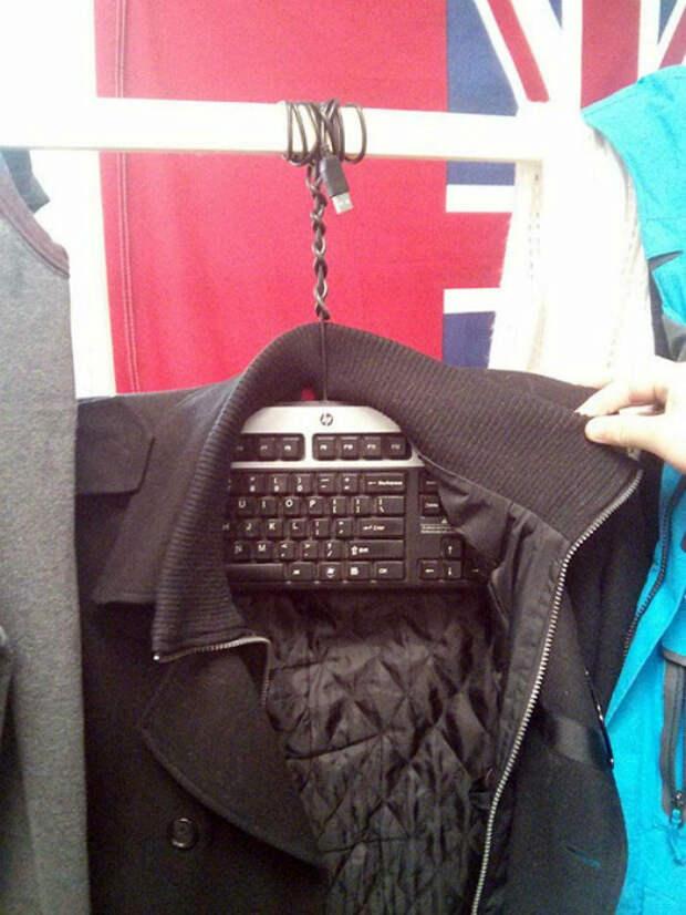 Альтернативное использование клавиатуры.