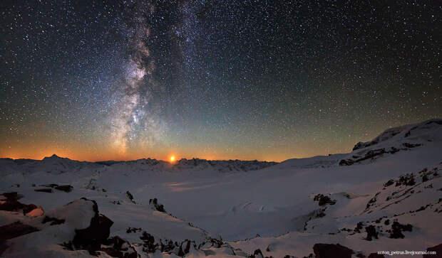 Звездное небо на Кавказе