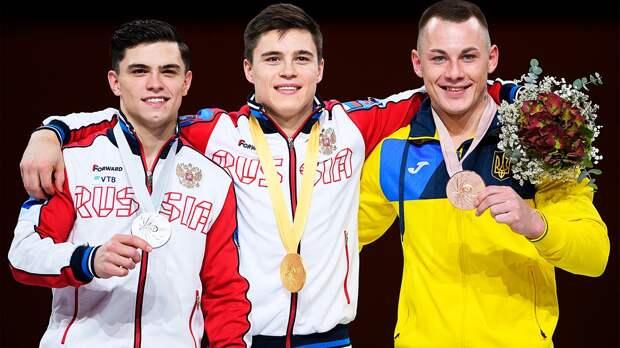 Никита Нагорный— лучший гимнаст мира прямо сейчас. Онвзял три золота наЧМвГермании