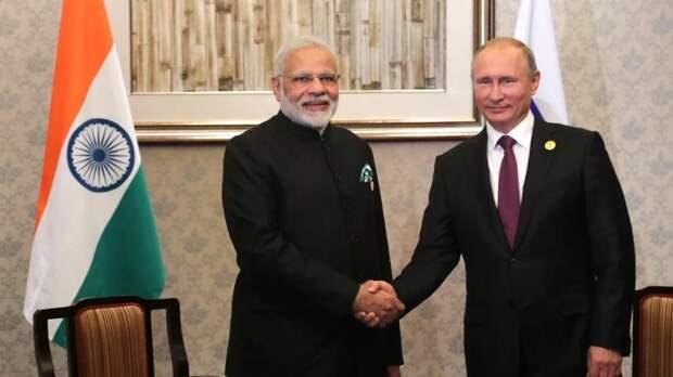 Состоялся телефонный разговор Владимира Путина с Премьер-министром Республики Индия