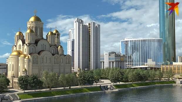 """""""Это не только и не столько строительство храма. В нагрузку  местный олигарх отгружает еще и многофункциональный жилой комплекс"""""""