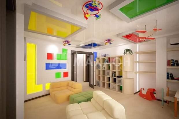 Потолок в квартире: современные тенденции, гайд по актуальным трендам 2020 года (35 фото)