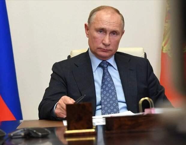 Владимир Путин поздравил Джо Байдена с победой на выборах