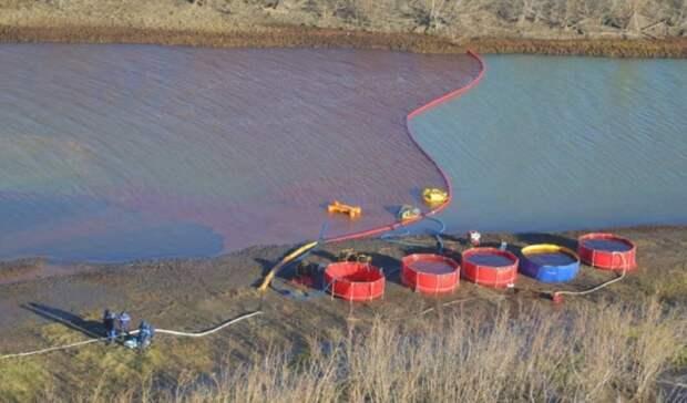 Перекачка водно-топливной смеси сместа разлива под Норильском завершится косени