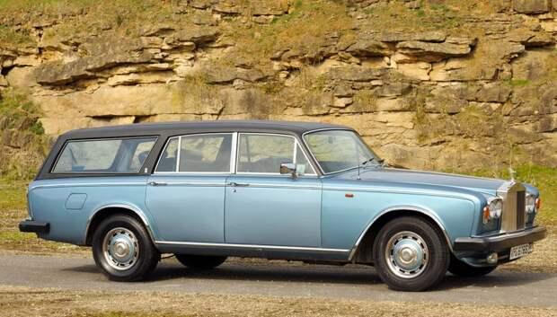 Универсал Rolls-Royce авто, автодизайн, дизайн, интересно