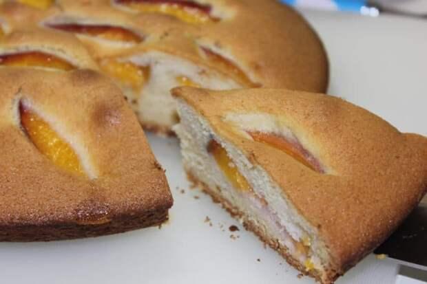 Пирог Абрикосовое чудо без глютена. Отличное лакомство для любителей здорового питания 2