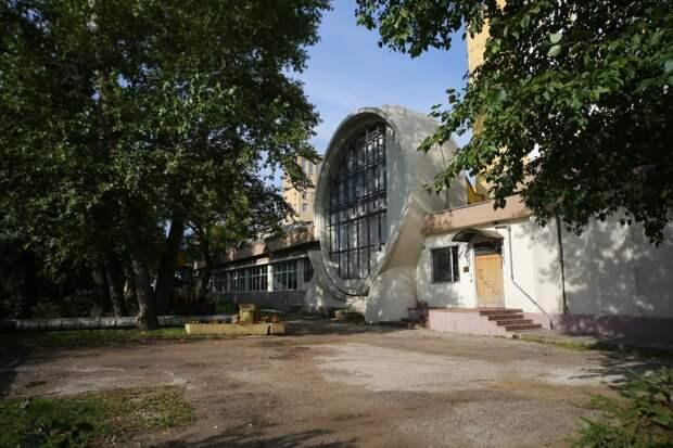 "Здание гаража Госплана СССР// АГН ""Москва"""