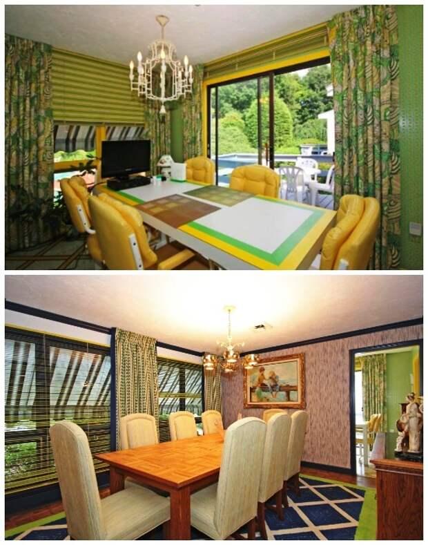 В усадьбе есть столовая комната и банкетный зал для гостей (ретро-дом в Фрамингеме, США). | Фото: tips-and-tricks.co.