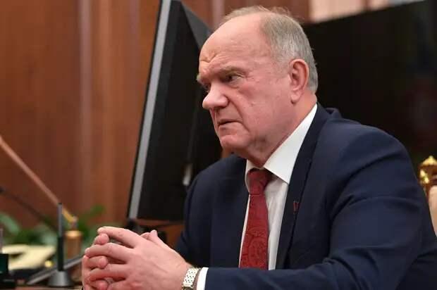 Зюганов рассказал о развернувшейся в Кремле борьбе за власть