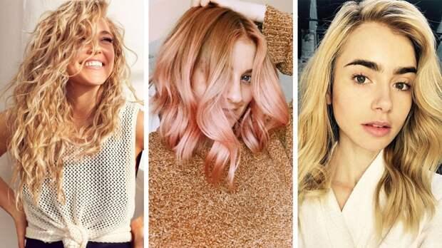 Колорирование на светлые волосы: актуальные оттенки для весны и лета