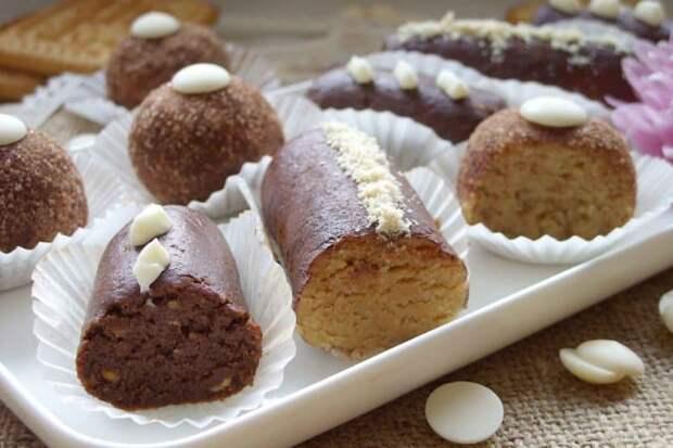 Пирожное из сухарей