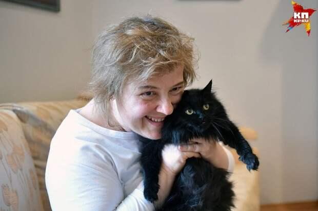 Вице-консул Генерального консульства Германии в Новосибирске спасает кошек