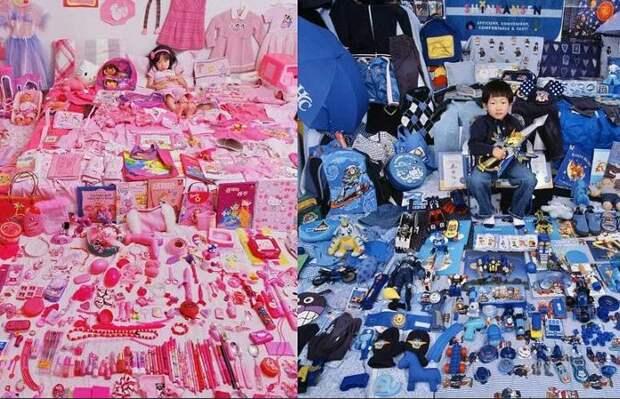 Если задуматься, то современных детей окружает настоящее розово-голубое безумие.