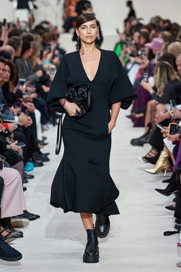 Искры гламурной осени: трендовые платья 2020