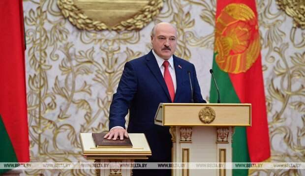 ⚡️ Александр Лукашенко вступил в должность президента Беларуси