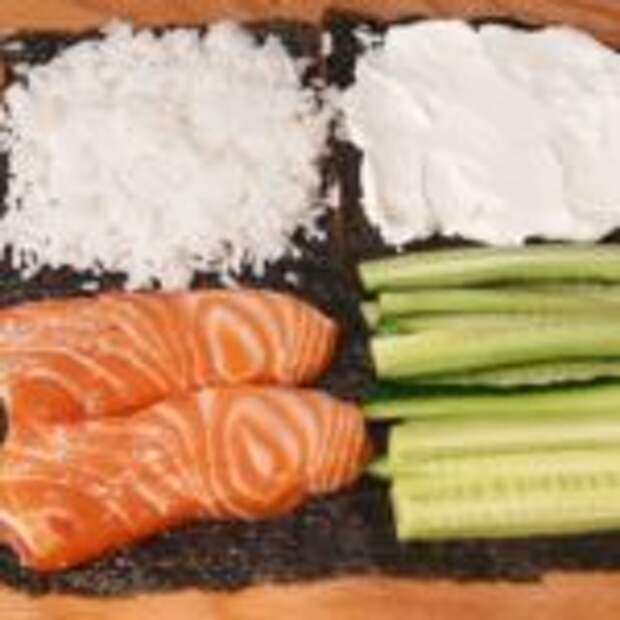 Суши-бутерброд «Филадельфия». Быстрее и проще любых роллов!